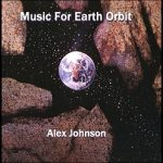"Cover for ""Music For Earth Orbit"", by Alex Johnson"